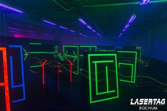 Jugendarbeit Bochum - Lasertag
